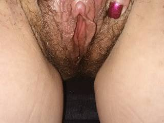 Freshly fucked pussy guys.. he beat it up just right