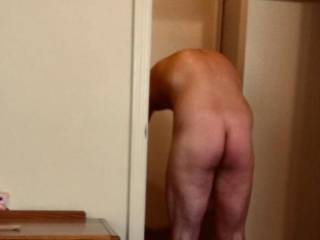Hiding in the closet and taking pictures of jocks cock and ass
