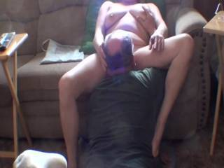 This is uncut video of my old man eating my pussy and making me cum in less than 2 minutes start to finish. I have never felt such a talented tongue and mouth on my pussy before. Any females out there that want to take his cum under 2 minute challenge?