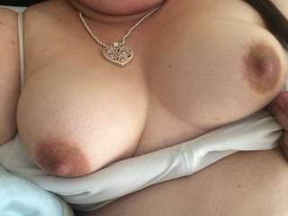 Beautiful tits, big suckable nipples