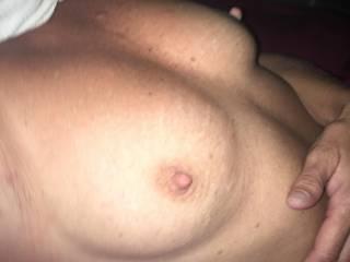 Ex wifes beautiful tits!