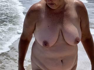 Love to walk on the beach.