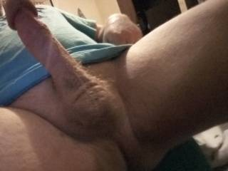 Just felt the need to stroke my cock and take a pic.