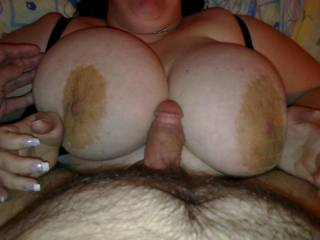 i love ur large areaolas ! i would love to fuck ur big tits and cum all over them