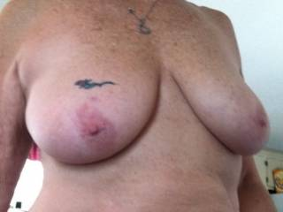I'm usually more an ass lover, but her breasts are fabulous to look at!