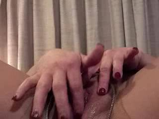 Damn!  She's so thoroughly lubed up that you and I could both slide into that cunt at the same time!