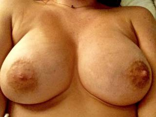 Tits out for the cam ;)