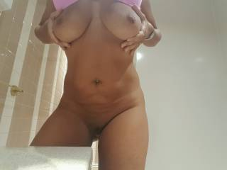 Anyone want to touch my wife's hot sexy exposed body?