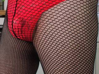 New pantys and fishnets just for fun