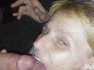 My very horny dirty wife cumming
