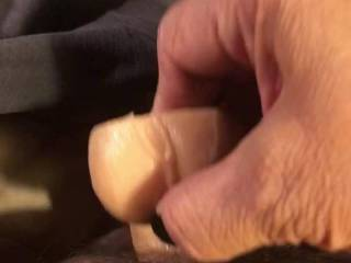 So fucking horny right now I wish I had a man to fuck me deep instead I'm using my dildo