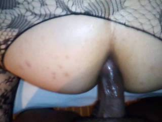 Fucking my wife tight ass