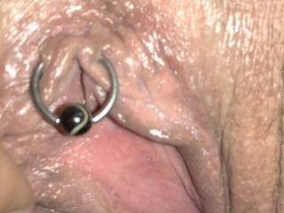 she was alot of fun the first lady i have been with that had a clit ring