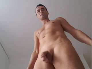 He loves nude beaches and loves to show off h is big cock