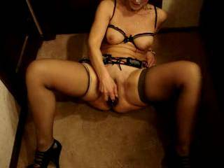 after posing for a couple of pics wife couldn\'t help  herself and just hammered away!
