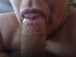My wife suck my cock taking every drop