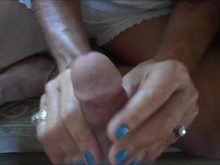 I love the feeling of a nice cock getting hard in my hands