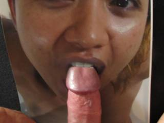 Slowly entering ... some more dick for a cute sexy chick ... want more?  I\'d love to push my prick down your throat ...
