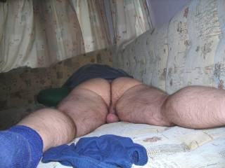 OMG, what a delicious ass...I would spread it and eat your so good...in circles first.