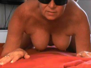 Mrs Ikpm said she was going to be in charge while she was sucking my cock, I believe I might have ended up in charge at the end ;-). Watch those beautiful breasts rock in perfect rhythm with her orgasm.