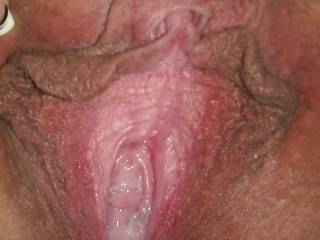 Unprotected sex. Pumped my big load deep into her hole. Her husband enjoyed watching us and shot his cum right on her slutty face.