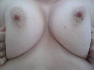 Would love to slide my hard cock between your awesome tits a dump a hot load on them...