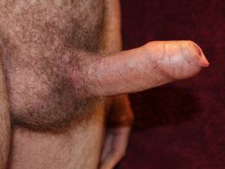 Great looking uncut cock.  Great foreskin.