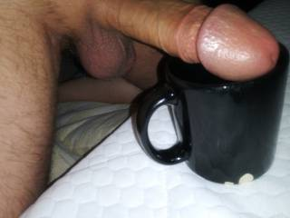 How do you take your coffee? Cream? Sugar?  ...or... ☝