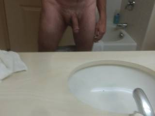 Semi hard wanting some pussy