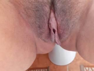 Showing you my wet pussy
