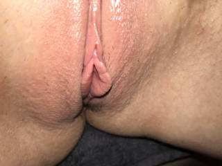 Beautiful pussy of a friend