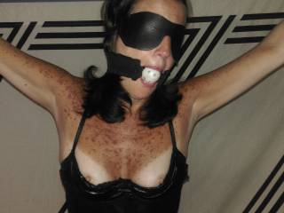 """"""" close-up of the wife in bondage... is she still hot at 55? """"  that is a silly question, 'hot is-as hot does' ! i'm melting as i speculate where this scene led! thanks"""