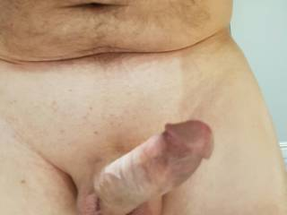 Pointing hard cock, looking for a pussy. Anyone interested ? Likes and comments