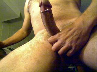 i'd be glad to be your cock sucker!! what a honor it would be to service that massive sausage!! hungry !!!