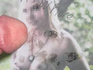 Nice tits on my asswhore slut!