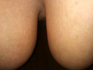 His third dare for me....  He wanted to see my tits hanging down...  Never understood why guys like that....  I\'m out of ideas on dares for him, please help!