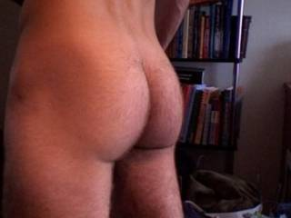 Sensational ass, mate, nice and firm and round and a divine crack.  Perfect!