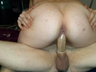 She rides the thick dick of her fuck buddy