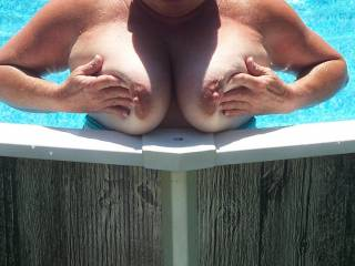 Them big tits are more then a mouth full and a hand full, that is Nice