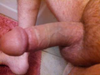 I like being shaved.  It makes my cock look bigger...I love yours...