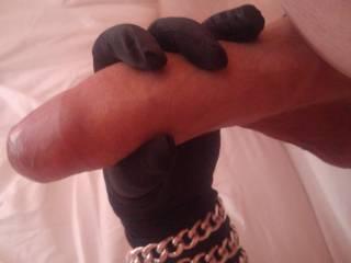 handjob with gloves