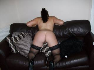 That is one sexy arse,would enjoy giving that a good spank then spending a few hours kissing and licking it better mmm  x x x