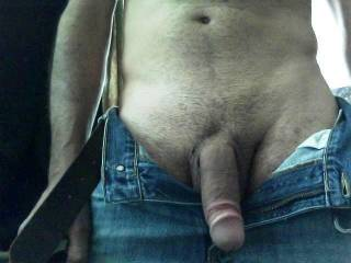 Your cock looks very suckable! YUMMY!