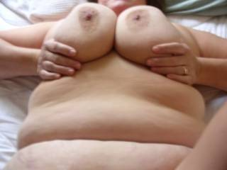 love to cum all over those big titties and sweet, sweet belly!!!!!!!!!!!!! mmmmmmmmmm