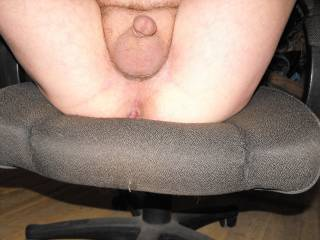 I'll suck your tight balls, then ease my cock all the way in your ass.