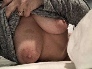 Like my tits and hard nipples? What do You think of My large areolas?