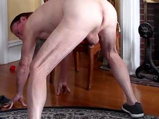 Bending over for those friends who like that.  Love being milked in this position.  Also good for lowering into a waiting mouth or easing into an uplifted ass.