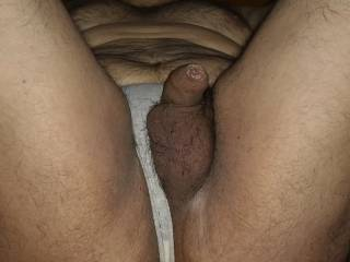 Showing me. My tiny dick is enjoying . Do you like it?