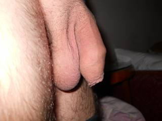 omg what a nice cock!!! I want to suck it big and hard and play with your hanging balls...