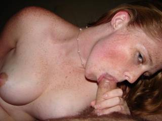 """RED""""head"""" Just Fu#@ing AMAZING !! post more of this sweet little piece of ass !!"""